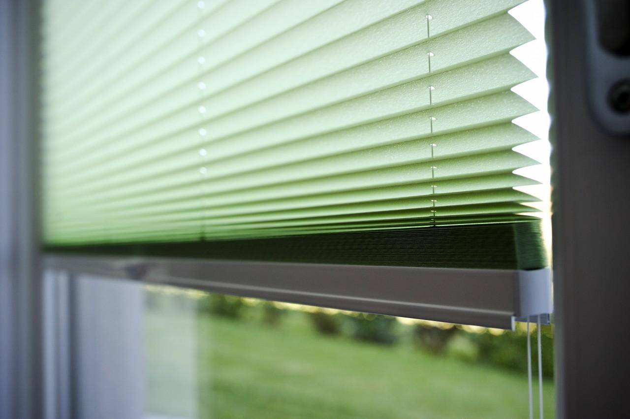 Produktfoto_Plissee_Detail_grün