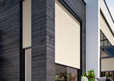 Vertikalmarkise Fensterbeschattung